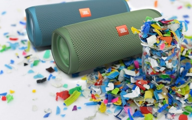 Description: Special version of the JBL Flip 5 speaker made from recycled plastic